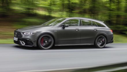 2020 Mercedes-AMG CLA 45 Shoot Brake revealed