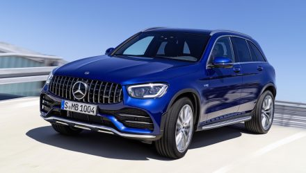 2020 Mercedes-AMG GLC 43 update revealed