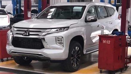 2020 Mitsubishi Pajero Sport revealed in sneaky photos