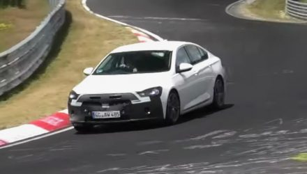 2020 Opel Insignia facelift spied, new Holden Commodore? (video)