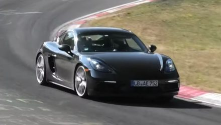 2020 Porsche 718 GTS spied? Singing soundtrack returns (video)