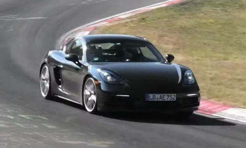 2020 Porsche 718 GTS spied? Singing soundtrack returns (video)