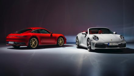 2020 Porsche 911 Carrera '992' base model revealed