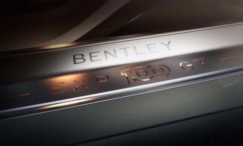 Bentley EXP 100 GT concept previewed, celebrates 100th birthday