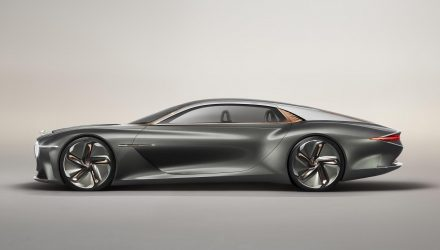Exquisite Bentley EXP 100 GT concept unveiled
