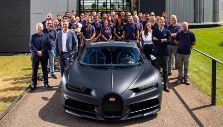 Bugatti Chiron production hits 200 units; '110 ans Bugatti' edition