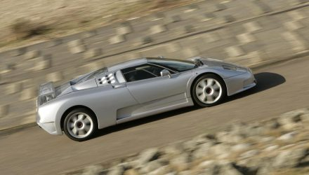 Bugatti planning modern EB110 SS for Pebble Beach?