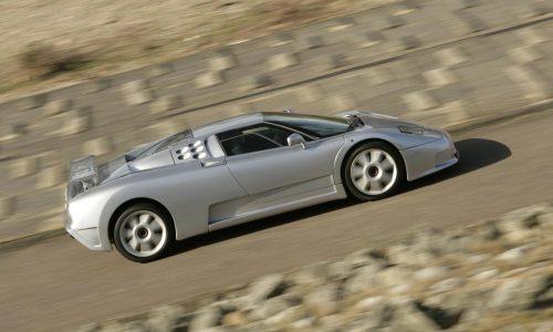 Bugatti planning modern EB110 SS for Pebble Beach?