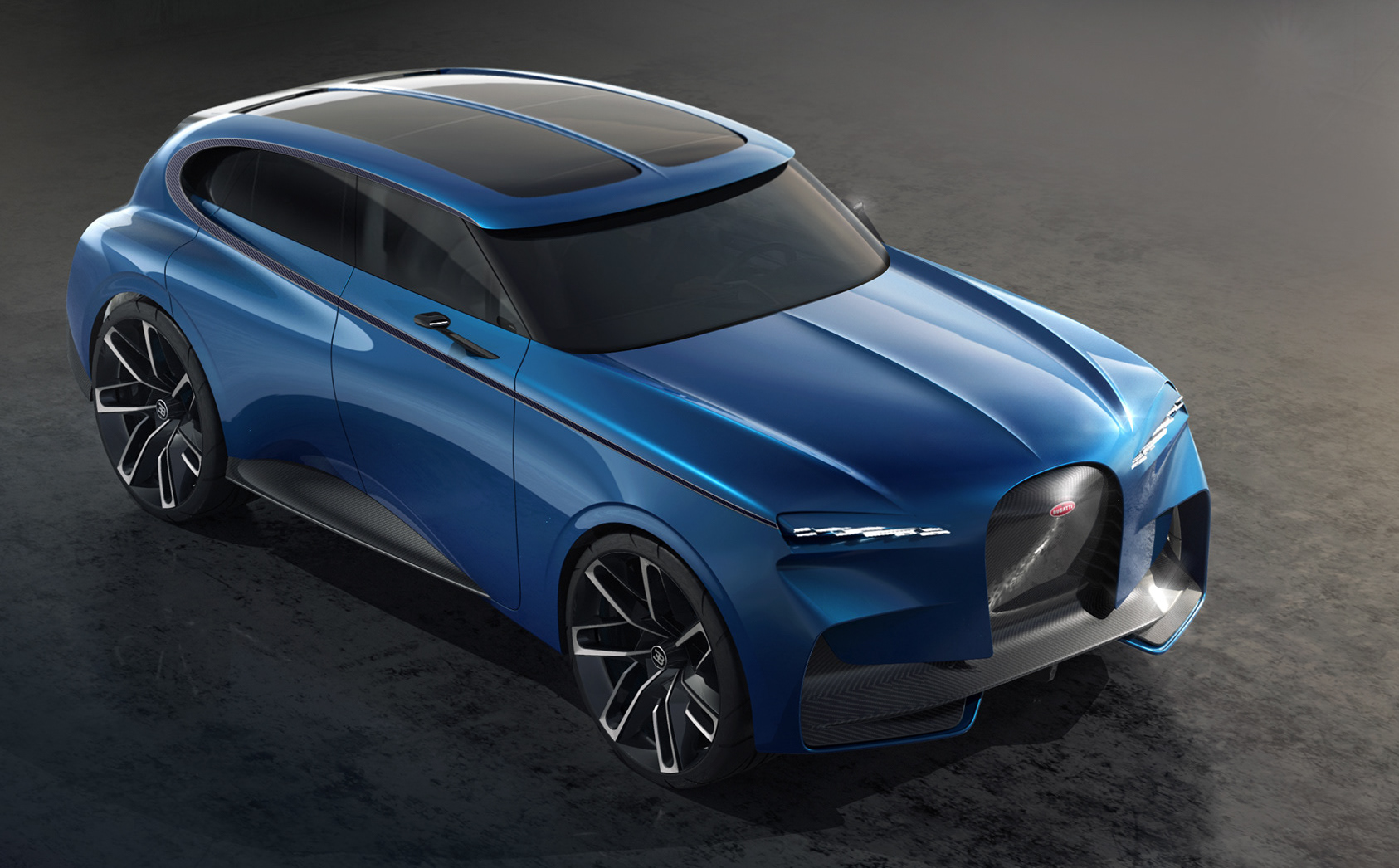 Bugatti Spartacus envisioned as hyper-SUV | PerformanceDrive