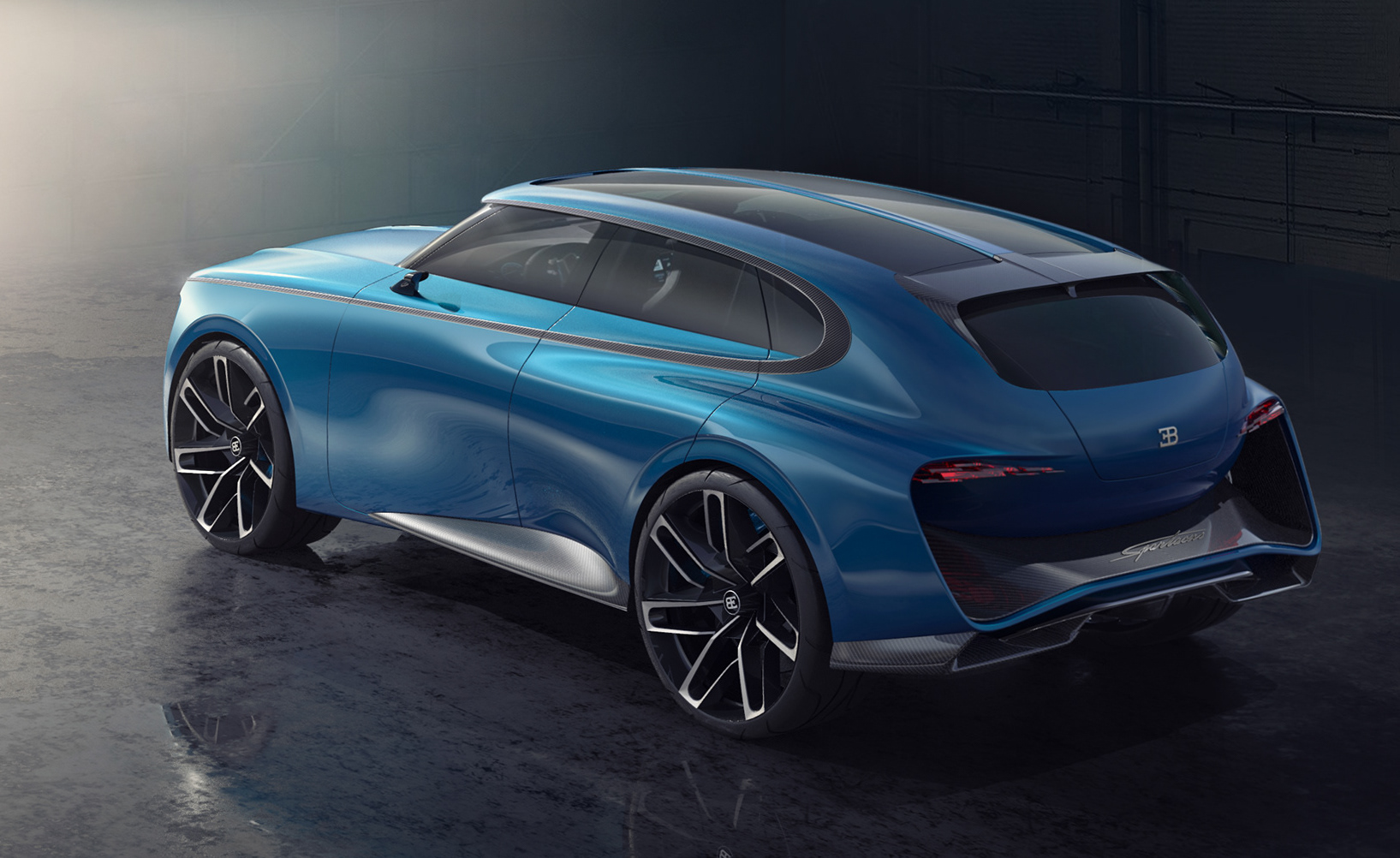 Bugatti Spartacus Envisioned As Hyper Suv Performancedrive