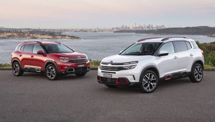 Citroen C5 Aircross now on sale in Australia