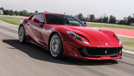Ferrari 812 'Spider' to be revealed in September
