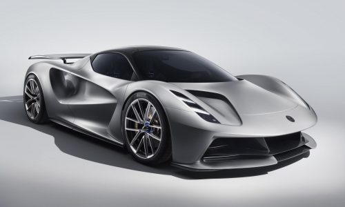 Lotus Evija revealed; world's most powerful production car