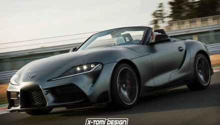 Toyota GR Supra convertible rumoured, to revive targa top tradition?