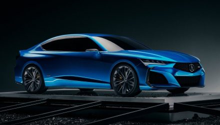 2020 Acura TLX Type S previewed with striking concept car