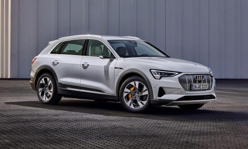 Audi e-tron 50 revealed as entry level electric SUV