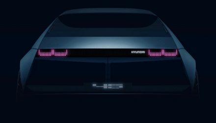 2019 Hyundai 45 concept teaser-