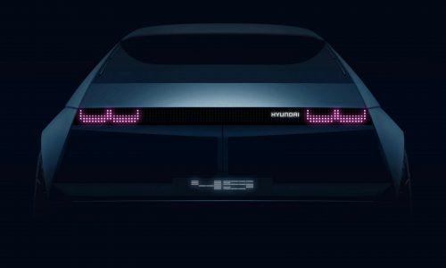 Hyundai 45 electric concept previews retro design