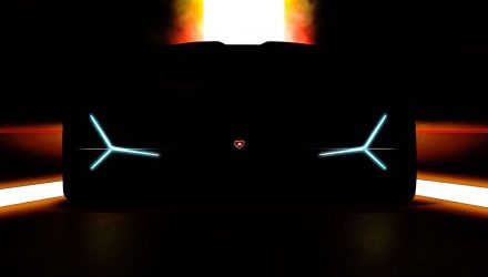 Lamborghini previews Frankfurt show debut, new flagship hypercar?