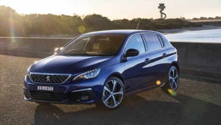 2019 Peugeot 308 GT 8spd auto now on sale in Australia