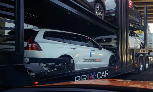 2019 Volvo S60 and V60 spotted in Australia