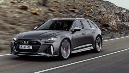 2020 Audi RS 6 Avant-driving