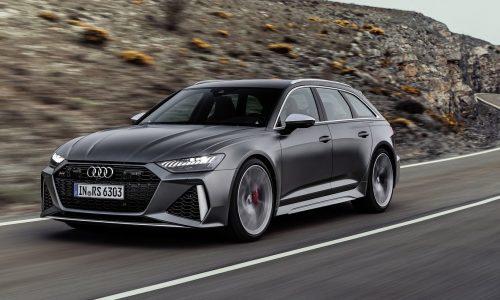 2020 Audi RS 6 Avant revealed, quickest ever