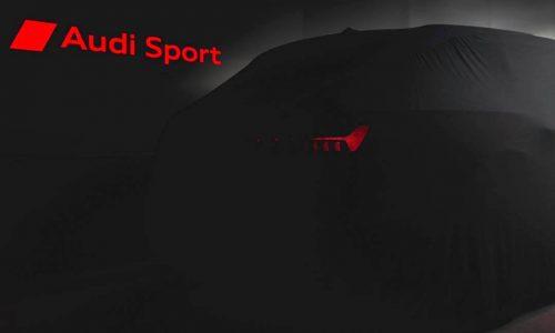 Audi Sport previews new model, 2020 RS 6 Avant?