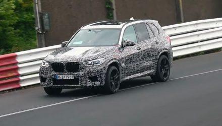 2020 BMW X5 M prototype at Nurburgring-2