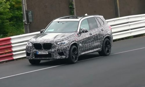 2020 BMW X5 M spied at Nurburgring, Competition variant? (video)