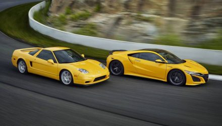 2020 Honda NSX Indy Yellow-with classic