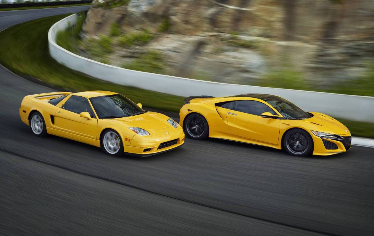2020 Honda NSX debuts Indy Yellow heritage colour