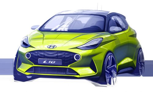 2020 Hyundai i10 previewed, likely topped with 1.0 turbo
