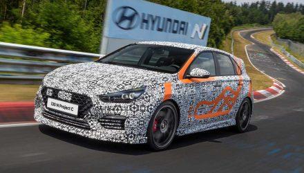 2020 Hyundai i30 N Project C prototype-Nurburgring