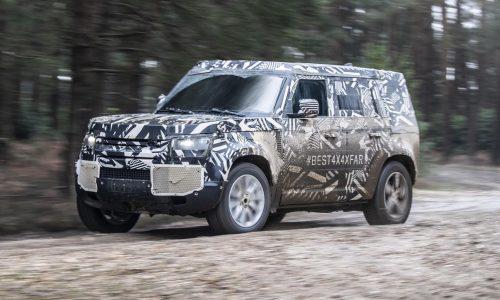 2020 Land Rover Defender reveal confirmed for Frankfurt show