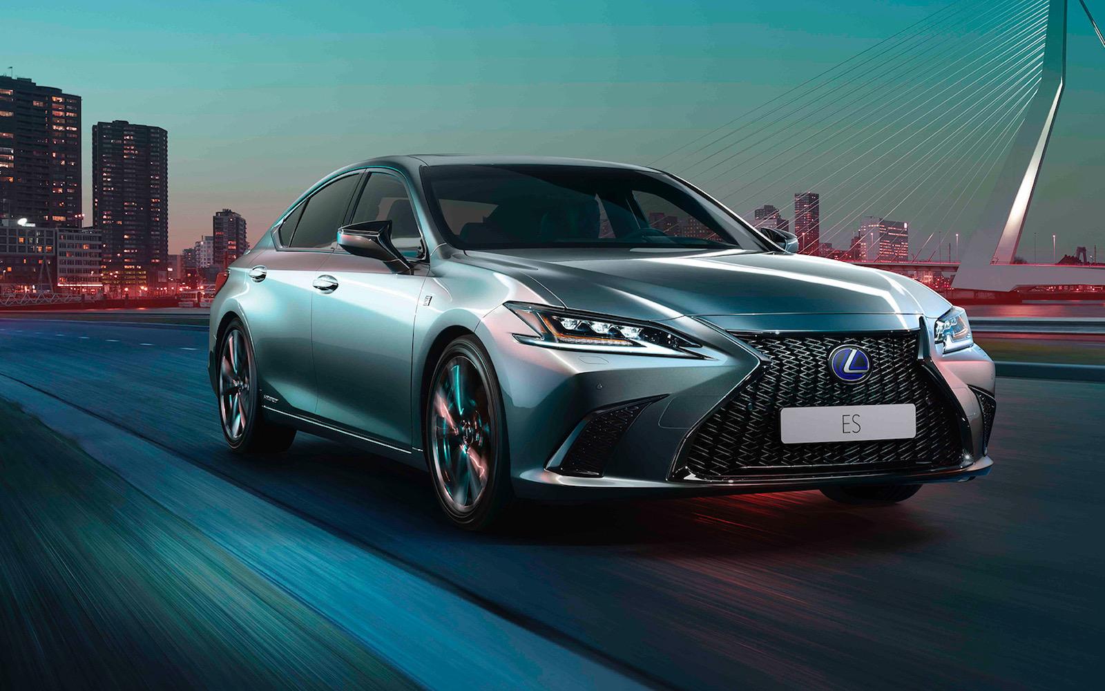 2020 Lexus ES 300h update debuts F Sport option ...
