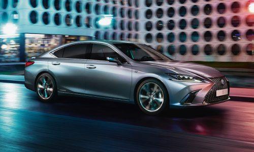 2020 Lexus ES 300h update debuts F Sport option