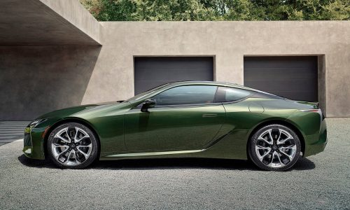 Lexus LC Inspiration Series announced for MY2020
