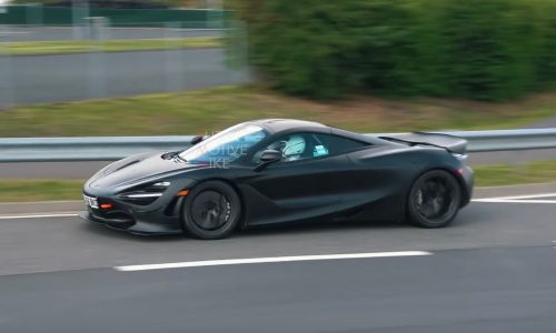 McLaren 720S Long Tail prototype spotted, 750LT? (video)