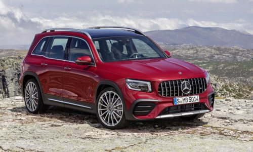 Mercedes-AMG GLB 35 revealed, available with 7 seats