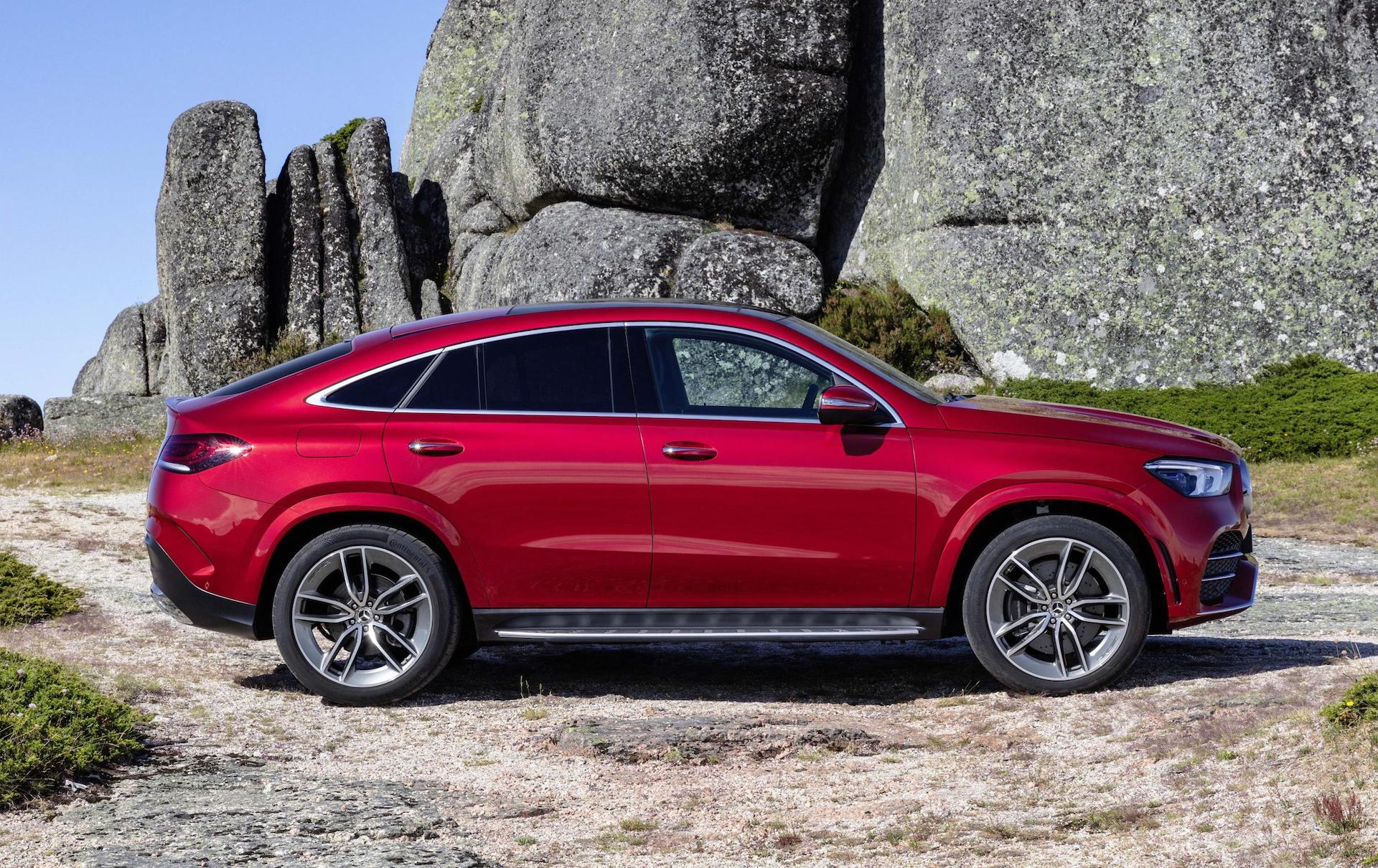 2020 mercedes benz gle coupe unveiled with amg 53. Black Bedroom Furniture Sets. Home Design Ideas
