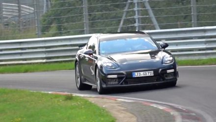 Porsche developing hardcore 2020 Panamera Turbo? (video)