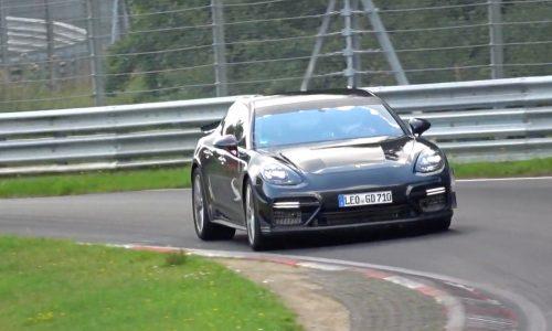 Porsche developing hardcore 2020 Panamera Turbo? (video)