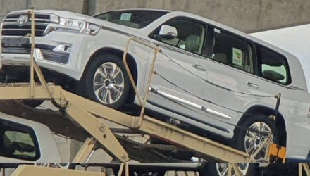 What is this sporty 2020 Toyota LandCruiser facelift?