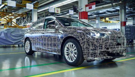 BMW iNEXT prototype-Pilot Plant