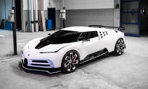 Bugatti Centodieci leaks out, new EB110-inspired hypercar