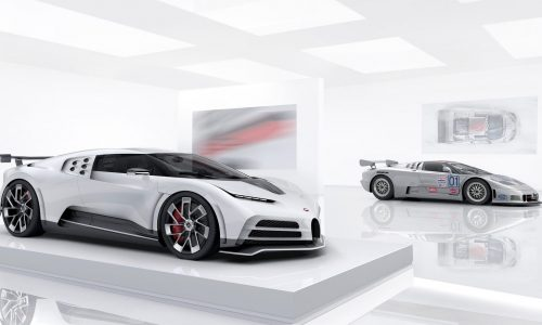Bugatti Centodieci officially revealed as homage to EB110