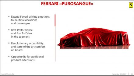 Ferrari Purosangue SUV to debut in September?