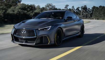 Infiniti Project Black S production decision pending: official