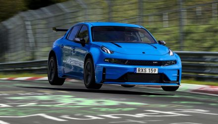 Lynk & Co 03 Cyan concept sets FWD Nurburgring lap record (video)